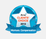 Avvo Clients' Choice 2012 Workers Compensation